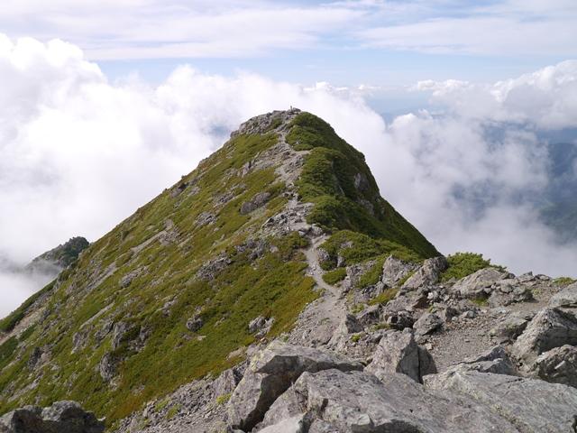 塩見岳東峰から西峰2.jpg